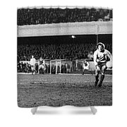 England: Soccer Game, 1972 Shower Curtain by Granger
