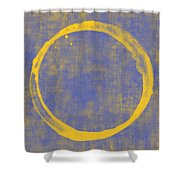 Enso 1 Shower Curtain by Julie Niemela