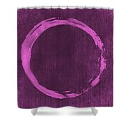 Enso 4 Shower Curtain by Julie Niemela