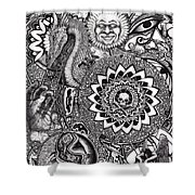 Epiphany Shower Curtain by Tobey Anderson