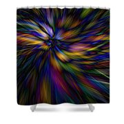 Essence Shower Curtain by Lauren Radke
