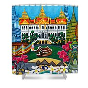 Exotic Bangkok Shower Curtain by Lisa  Lorenz