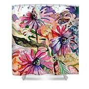 Fairy Land Shower Curtain by Mindy Newman