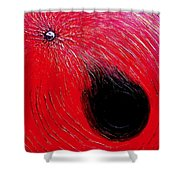 Falling In To Passion Shower Curtain by Ian  MacDonald