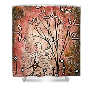 Far Far Away By Madart Shower Curtain by Megan Duncanson