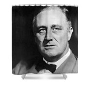 FDR Shower Curtain by War Is Hell Store