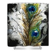 FeMale Shower Curtain by Tara Thelen - Printscapes