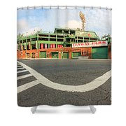 Fenway Park IIi Shower Curtain by Clarence Holmes