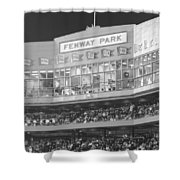Fenway Park Shower Curtain by Lauri Novak