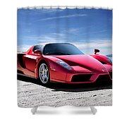 Ferrari Enzo Shower Curtain by Douglas Pittman