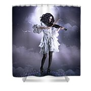 Fiddler's Green Shower Curtain by Shanina Conway