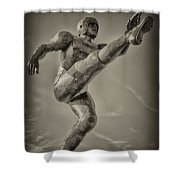 Field Goal Shower Curtain by Bill Cannon