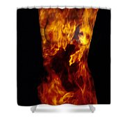 Fire One  Shower Curtain by Arla Patch