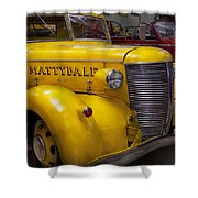 Fireman - Mattydale  Shower Curtain by Mike Savad