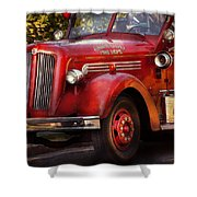 Fireman - The Garwood Fire Dept Shower Curtain by Mike Savad