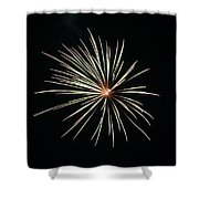 Fireworks 002 Shower Curtain by Larry Ward