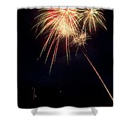 Fireworks 49 Shower Curtain by James BO  Insogna