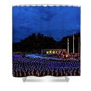 Flags of our Fathers Shower Curtain by Jon Burch Photography