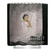 Flamenco Shower Curtain by Lizzy Forrester