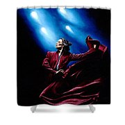 Flamenco Performance Shower Curtain by Richard Young