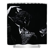 Flamenco Recital Shower Curtain by Richard Young