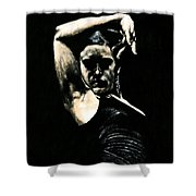 Flamenco Soul Shower Curtain by Richard Young