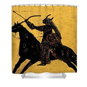 Flaming Arrow Shower Curtain by David Lee Thompson