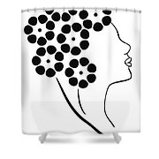 Flower girl Shower Curtain by Frank Tschakert