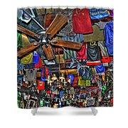 Foley's Pub in Manhattan Shower Curtain by Randy Aveille