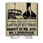 For the Benefit of Mr Kite Shower Curtain by Bill Cannon