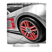 Ford Mustang Boss 302 Shower Curtain by Gordon Dean II
