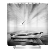 Forgotten Shower Curtain by Jacky Gerritsen
