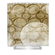 Formed In Fall Shower Curtain by Angelina Vick