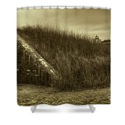 Fort Taber No. 1 Shower Curtain by David Gordon