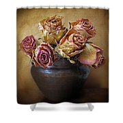 Fragile Rose Shower Curtain by Jessica Jenney