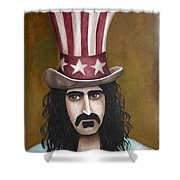 Franks Hat Shower Curtain by Leah Saulnier The Painting Maniac