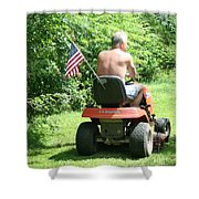 Freedom Isn't Free Shower Curtain by Barbara S Nickerson