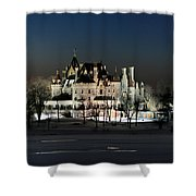 Frozen Boldt Castle Shower Curtain by Lori Deiter