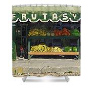 Frutas Y Shower Curtain by Michael Ward