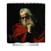 Galileo Galilei Shower Curtain by Ivan Petrovich Keler Viliandi