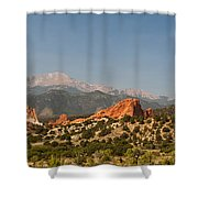 Garden Of The Gods Shower Curtain by Brian Harig