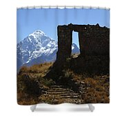 Gateway To The Gods 2 Shower Curtain by James Brunker