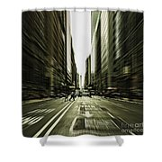 Gelati Rush Shower Curtain by Andrew Paranavitana