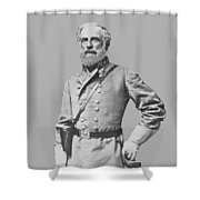 General Robert E Lee Shower Curtain by War Is Hell Store