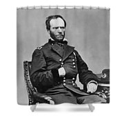 General William Sherman Shower Curtain by War Is Hell Store