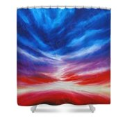 Genesis IIi Shower Curtain by James Christopher Hill