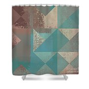 Geomix 03 - s123bc04t2a Shower Curtain by Variance Collections