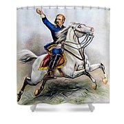 George Armstrong Custer Shower Curtain by Granger
