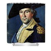 George Washington Shower Curtain by Samuel King