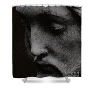 Gethsemane Shower Curtain by Linda Shafer